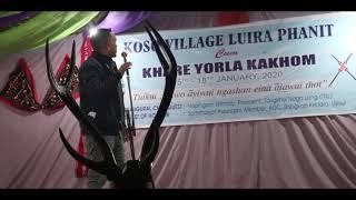 Pakmi Mahong | Luira Phanit | Koso Village 17 Jan. 2020