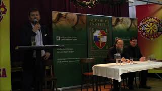 Thomas Bachheimer begrüßt Alexander Dugin