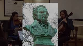 Mosaic String Trio - Schubert, Trio in B flat