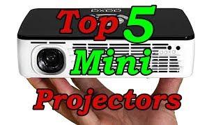 Top 5 Best Mini Portable Projectors to Buy in 2018