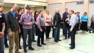 Иван Комаров. Молитва в Центре Помазание