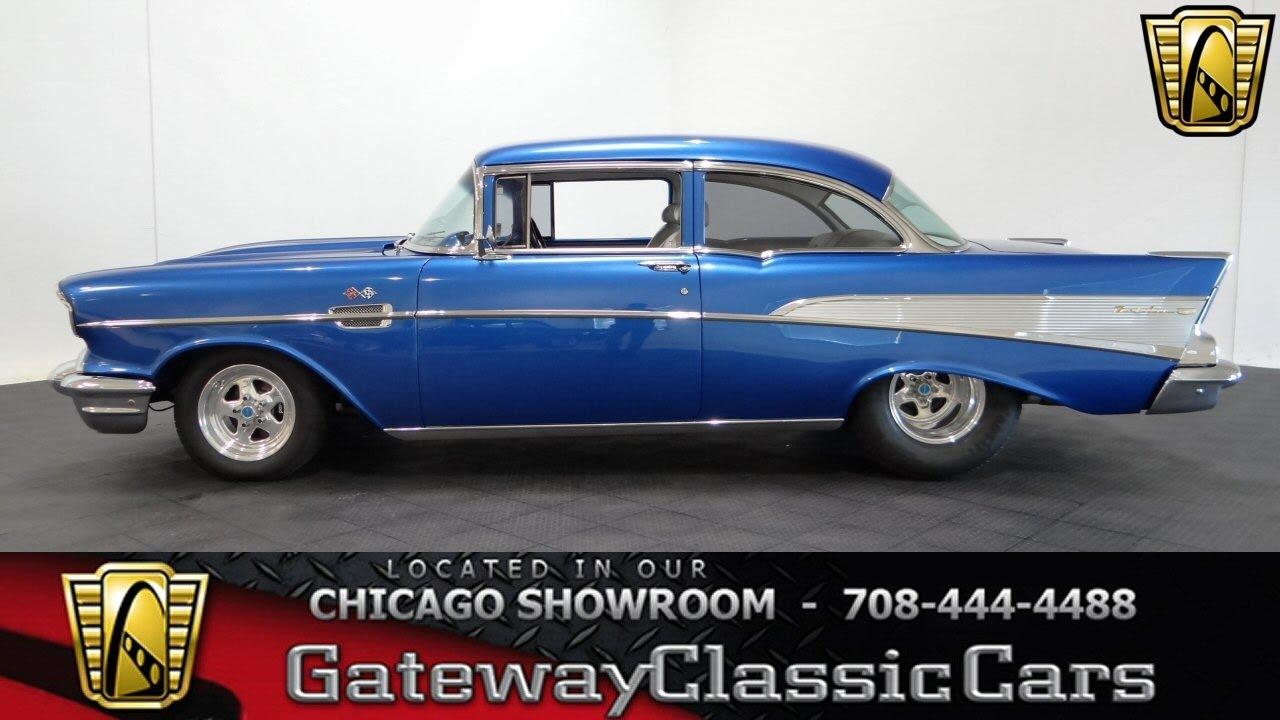 1957 Chevrolet Bel Air Tribute Gateway Clic Cars Chicago #1112 ...