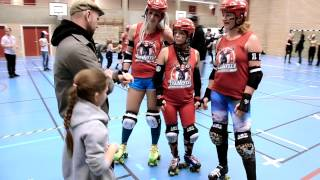 CONTAINER 90 Feat Västerås Roller Derby - Roller Derby Girls Official Video