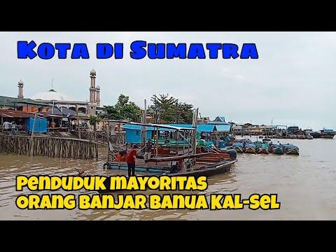 Di Sumatra. Kota Penduduknya Mayoritas Suku Banjar Banua Kal-Sel