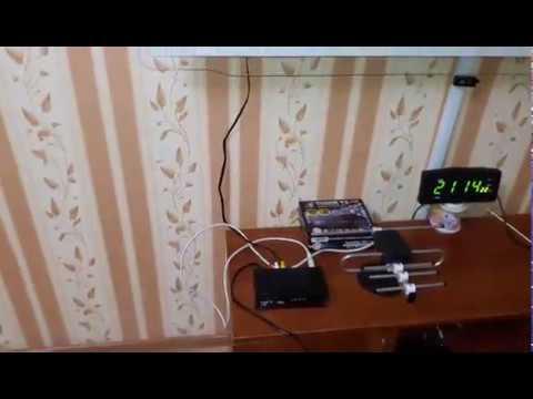 Amiko T58 Суперновинка! DVB-T2 тюнер (ресивер) Т2 обзор .