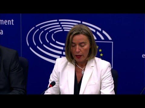 EU backs opening Albania, Macedonia membership talks