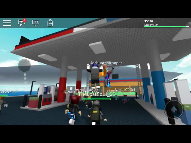 ROBLOX Survive the Natural Disasters