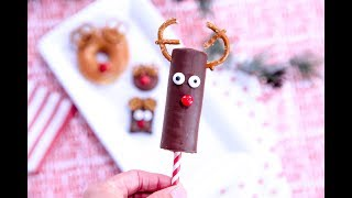 Four Easy Rudolph Reindeer Treats For Your Christmas Party