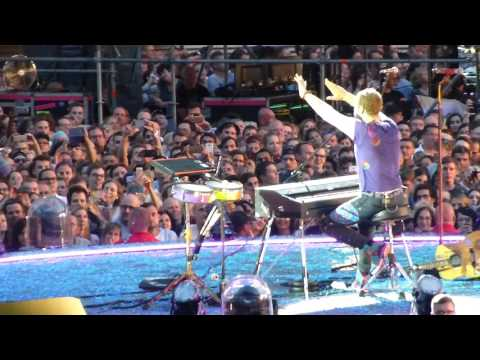 Coldplay - Everglow Live in Leipzig 14.06.2017