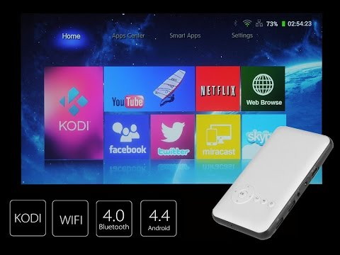 Android Wifi Mini DLP Projector Review - Chinavasion!