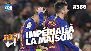 Replay #386 : Débrief Barcelone vs Séville (6-1) Coupe du Roi - #CD5