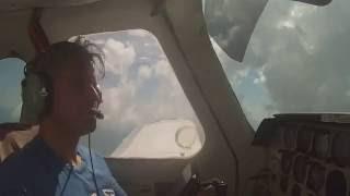 Flying the Beechcraft Skipper 77 - a short pilot selfie