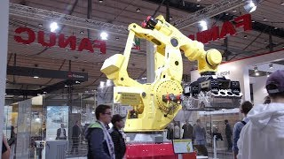 Impressions from FANUC at the EMO 2019 in Hanover, Germany