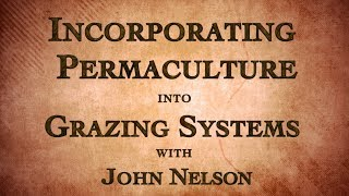 Incorporating Permaculture into Grazing Systems with John Nelson