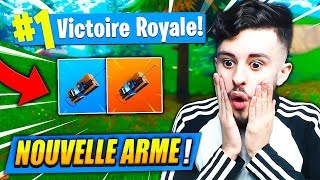 The NEW ARME -C4 EXPLOSIF - M'A SAUVÉ on FORTNITE: Battle Royale!! (CHEAT)