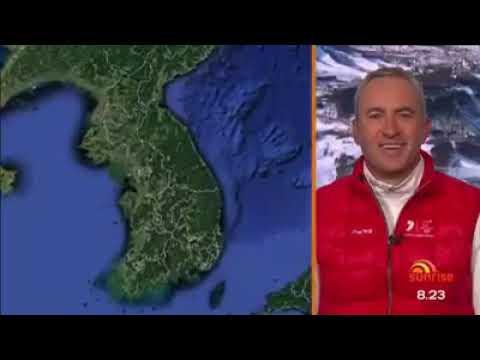 Matt Graham has received his medal || MOGULS MEDAL CEREMONY || PyeongChang medals ceremony
