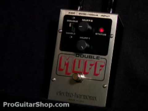 Electro Harmonix Double Muff Fuzz Pedal