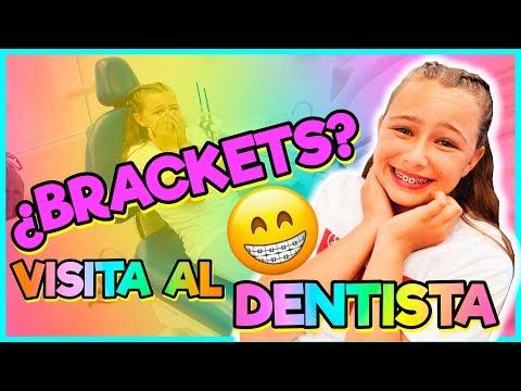 😱¡¿ELAIA NECESITA BRACKETS?! 😅VISITA al DENTISTA | Familia Carameluchi 👨👩👧👦