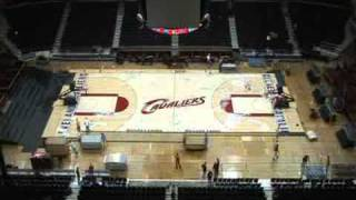 Quicken Loans Arena changeover