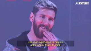 vuclip Lionel Messi Interview 2016 December | English Subtitles HD | Great advice for young player's.