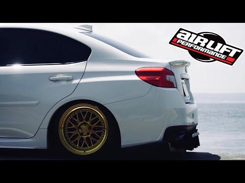WRX gets AIR SUSPENSION (AirLift 3P Install)