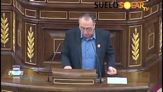 D. Joan Baldoví grita MANOS ARRIBA, ESTO ES UN ATRACO! al ver la Reforma Energética 2013