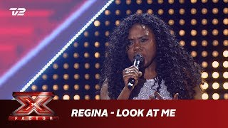 Regina synger 'Look at Me' - Carrie Underwood (5 Chair Challenge) | X Factor 2019 | TV 2
