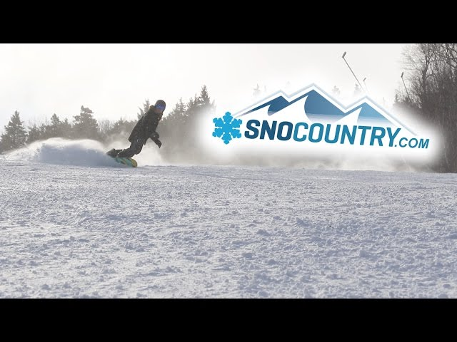 Loon Mountain resort 2017 - SnoCountry Snapshot with Halley O'Brien