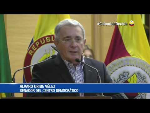La respuesta de Álvaro Uribe a joven que lo confrontó en Bucaramanga  21\09\16