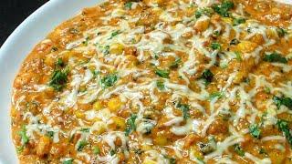 Masala Corn Sabzi Recipe - Dum Makai Masala Recipe - Sweet Corn Sabzi Recipe -How to cook Sweet Corn