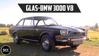GLAS-BMW 3000 V8 - Test drive in top gear - Rare BMW - Glas - Frua Body | SCC TV