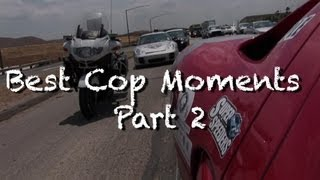 Super Speeders Best Cop Moments - Part 2
