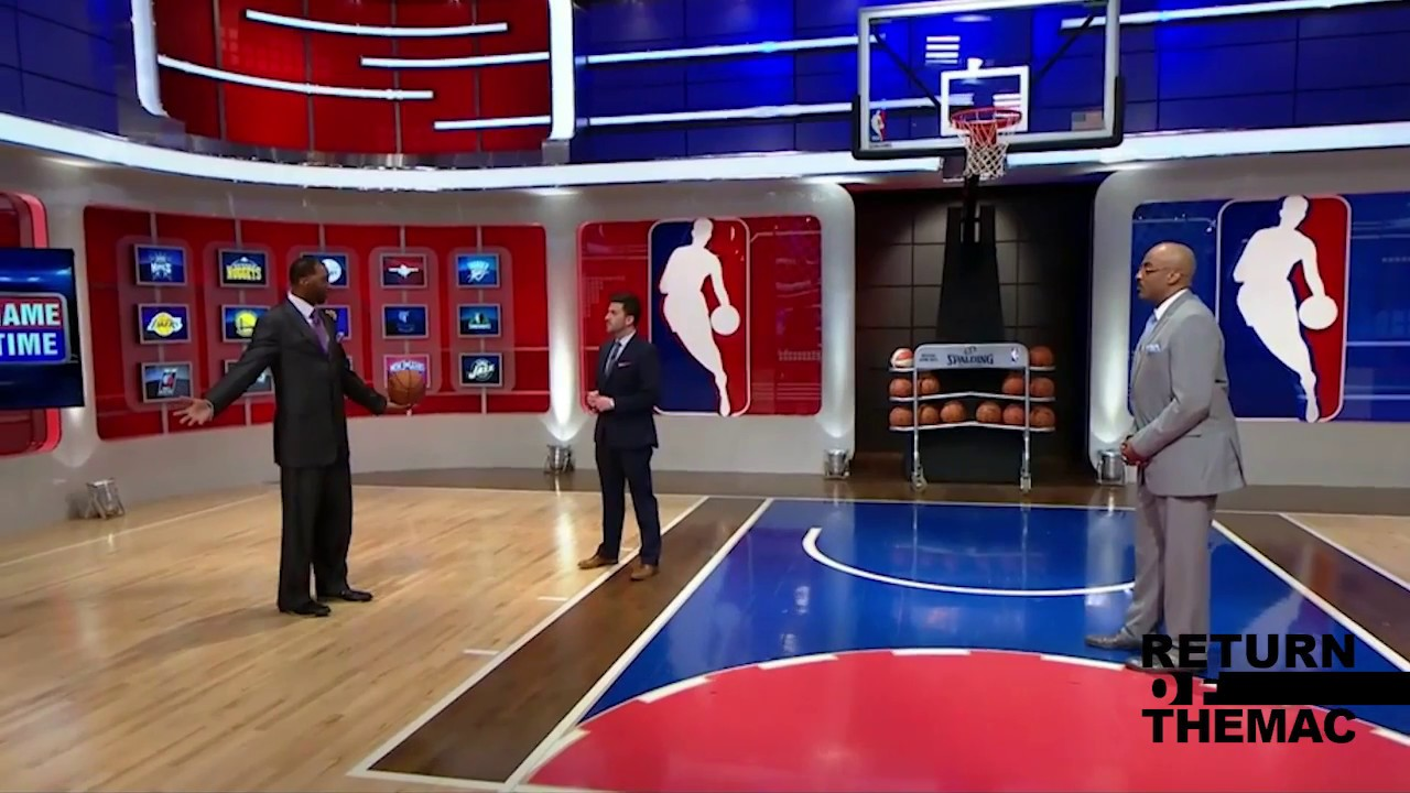 Tracy McGrady Showing Off His Go-To Moves on NBATV (2015)