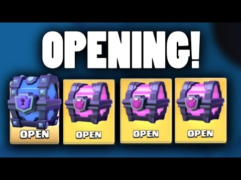 Clash Royale SUPER MAGICAL AND MAGICAL CHEST OPENING!!! | Clash Royale Chest Opening