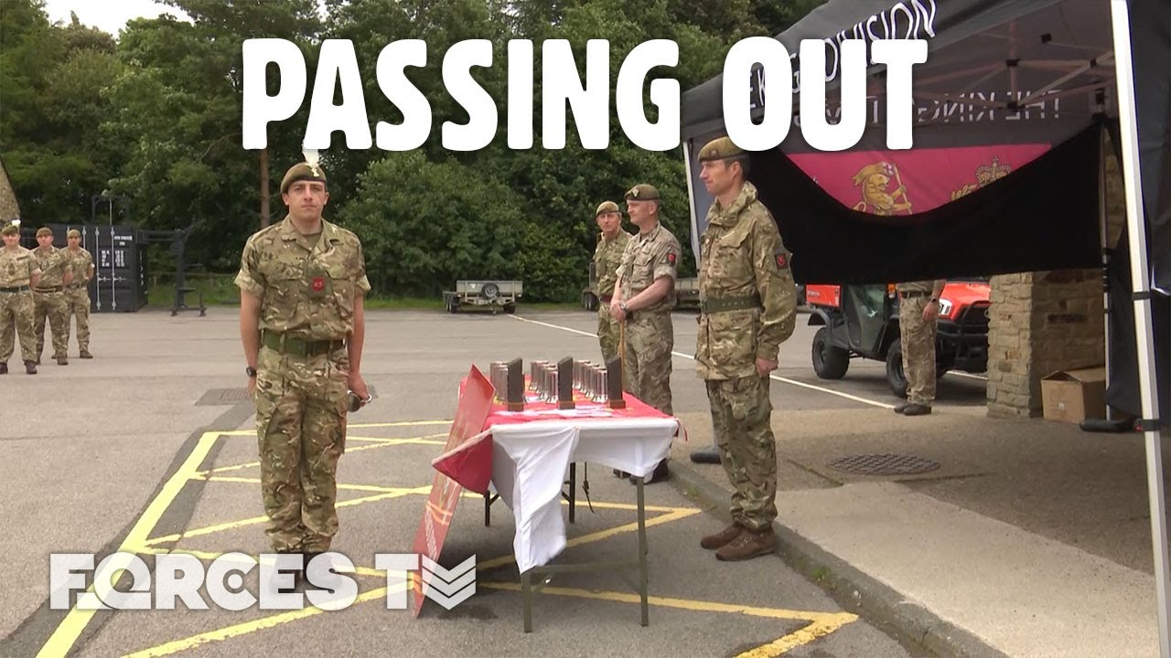 Soldiers Choir Sings As Catterick Army Recruits Pass Out In Yorkshire! 🎶 | Forces TV