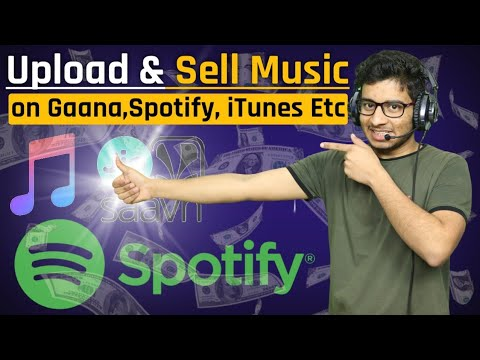 How to Upload and Sell Music Online on Ganna, Spotify and Jio Saavn || How to Earn Money from Home
