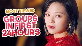 Most Viewed Kpop Groups Music Videos In