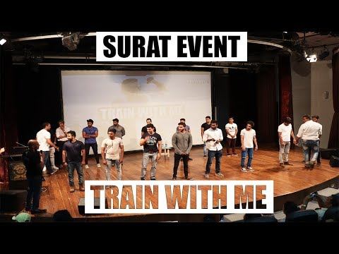 """Train With Me Contest"" of SURAT- GUJARAT EVENT 