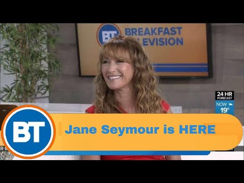 Jane Seymour is HERE!