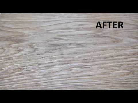 How to remove a red wine spot on wood