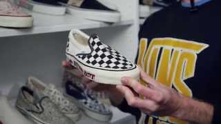 size? Retrospective Project with Vans - Part 1: Classic Slip-On