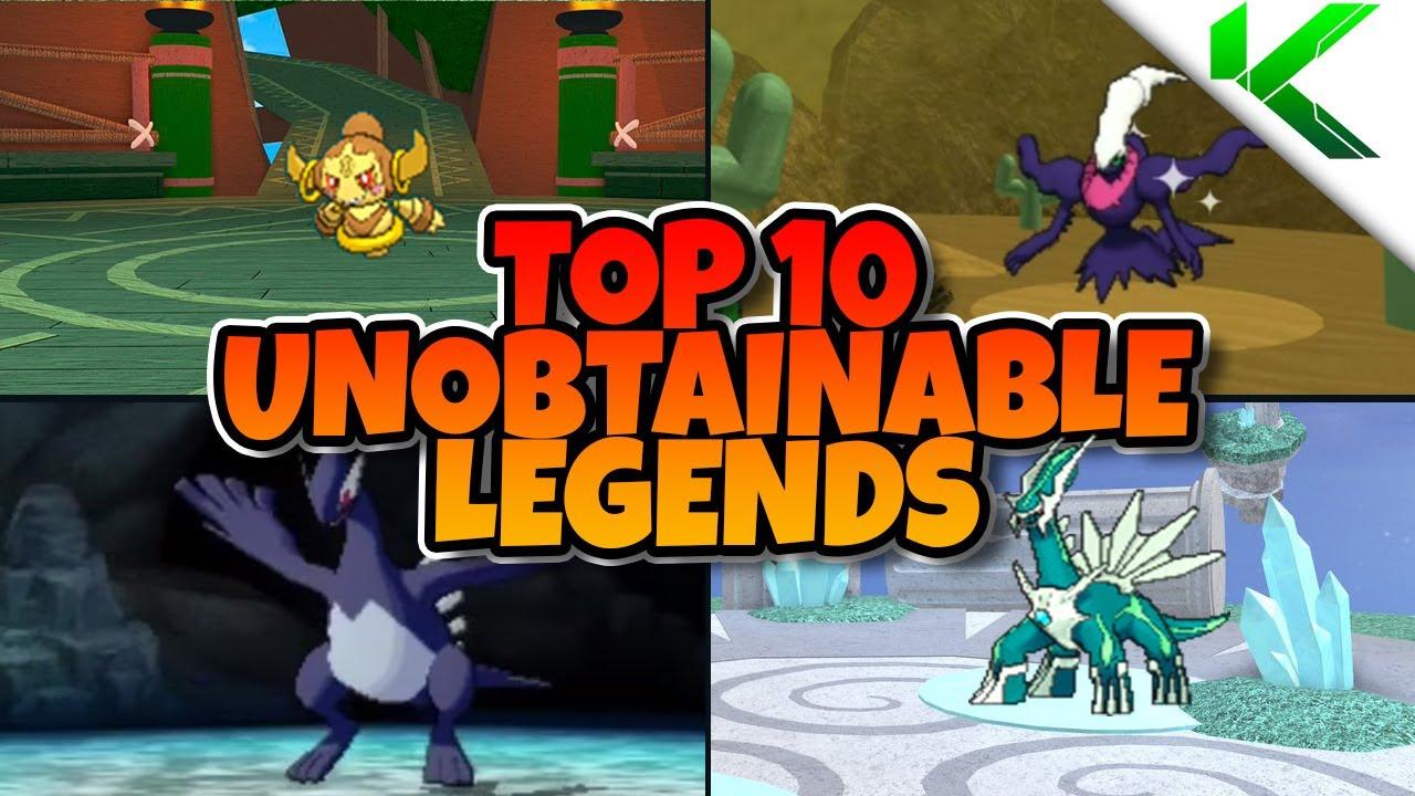 TOP 10 UNOBTAINABLE LEGENDS IN BRICK BRONZE! - Pokemon ...