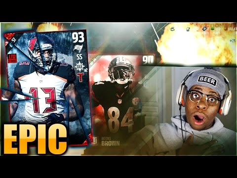 EPIC FU%*KING PULL! SS MIKE EVANS AND RICKY WILLIAMS PACK OPENING! OPENING MORE GIFTS TOO! MUT 17