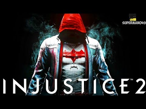 "The Ultimate Power Of Edge Lord Red Hood! - Injustice 2 ""Red Hood"" Gameplay"