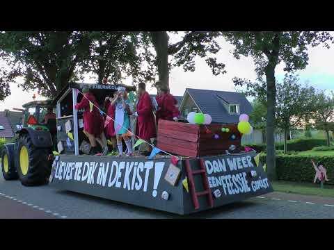 Optocht dorpsfeest Wanneperveen 2017