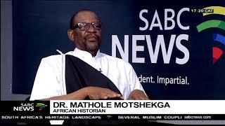 More about Heritage Day with Dr Mathole Motshekga