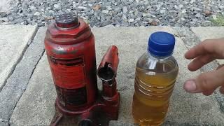 Cara Mengganti Oli Hidrolik Dongkrak KMV