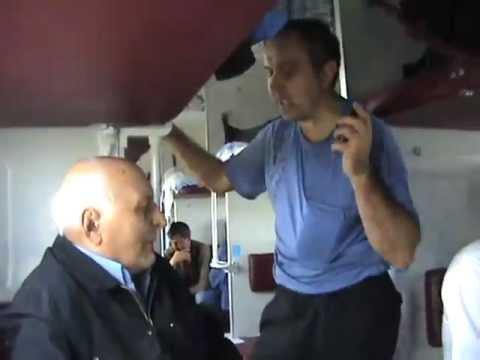 Прикольный случай в поезде Киев - Луганск