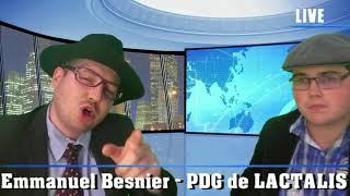 L' interview d' Emmanuel Besnier (PDG de LACTALIS)