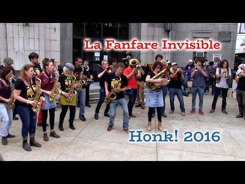 HONK! 2016  La Fanfare Invisible  Oct 8  Dilboy Hall, Davis Square, Somerville
